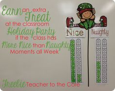 holiday, christmas time, classroom behaviorincent, classroom reward, behavior charts, classroom manag, freebi, behavior management, christmastim behavior