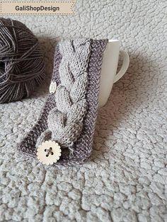 Knitted mug warmer Coffee Cup Sleeve Coffee Mug Cozy