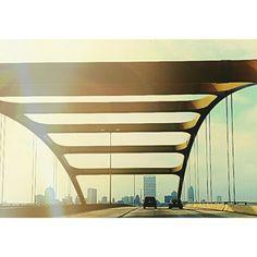 Hoan Bridge  Milwaukee, WI......I swear everyone who lives in Milwaukee calls it the home bridge
