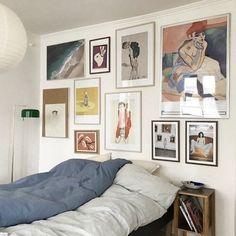12 idéer til billedvægge