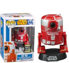 Funko Star Wars Pop Vinyl Figure (Galactic Convention Exclusive) ** Find out more about the great product at the image link. (This is an affiliate link) Star Wars Film, Pop Vinyl Figures, Iron Man Pop, Tiny Titans, Star Wars Figurines, Pop Figurine, Star Wars Droids, Star Wars Celebration, Funko Pop Star Wars