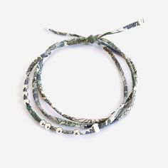 Image of Bracelet Perles Argent