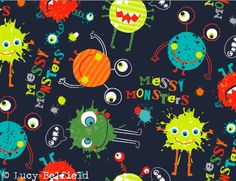 Lucy Belfield Design and Illustration: My messy monsters