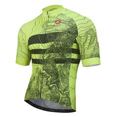 All-Day Cycling Jersey for Men - Topo Bands Design - Pactimo Unique Cycling  Jerseys 9277090e7