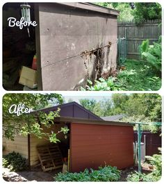 Habitat For Humanity, Before And After Pictures, Home Repairs, Habitats, Exterior, Outdoor Decor, Home Decor, Homemade Home Decor, Outdoor Spaces