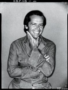 Jack Nicholson - Vanity Fair, 1978.