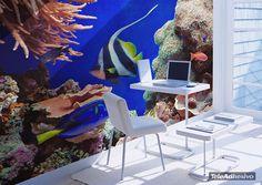 Papier peint vinyle Aquarium 2
