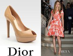 Jennifer Lawrence  DIOR Pumps  Shoes