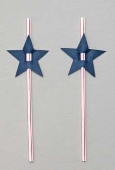4th of July straws Star Wars Party, Pop Star Party, Star Theme Party, Birthday Star, July Birthday, 1st Birthday Parties, 4th Of July Celebration, 4th Of July Party, July 4th