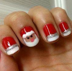 Best Christmas Nail Art Designs Meowchies Hideout Nails Pinte