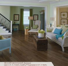 "Hickory Moonlite Specialty Collection | Somerset Floors 3-1/4"" $4.99/sq, 4"" $5.19/sq."
