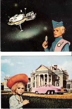 Thunderbirds - Had a Lady Penelope doll!! She had a black and white dog tooth suit on.
