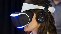 Strapped into Sony's new virtual reality headset, Project Morpheus Electronics Gadgets, Technology Gadgets, Tech Gadgets, Cool Gadgets, Game Tester Jobs, Virtual Reality Headset, Future Trends, Best Careers, Digital Technology