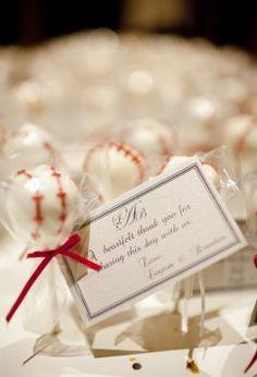50 best baseball wedding images on Pinterest | Baseball centerpiece ...