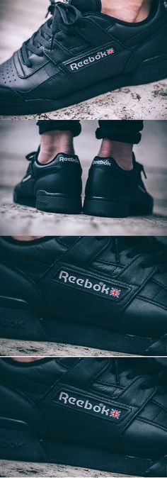 #Reebok Workout Vintage Plus 'Black'