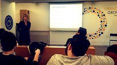 """Workshop V """"The social network"""" - by Leda Karambela at #ImpactDay2015"""