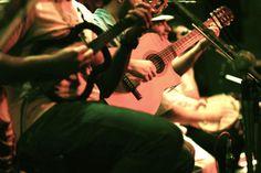 Samba Band in Club Lapa, Rio de Janeiro, Brazil