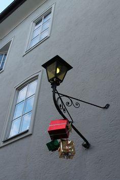 Festive Street Light