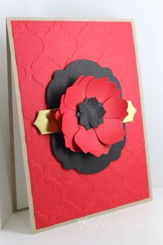 If you'd like to make your own poppy at home, cut 3 fun flowers from Real Red… Make Your Own Poppy, Lest We Forget Anzac, Poppy Wreath, November Crafts, Poppy Cards, Anzac Day, Atc Cards, Remembrance Day, Glue Dots