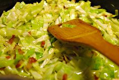 Bavorsko-sasky salat z bileho zeli Czech Recipes, Vegetable Salad, Salad Recipes, Cabbage, Salads, Recipies, Food And Drink, Cooking Recipes, Yummy Food