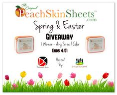 PeachSkinSheets.com Spring & Easter Giveaway! 1 Winner ~ Any Size Or Color! - SaraLee's Deals Steals & Giveaways