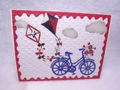 Your place to buy and sell all things handmade Sunday School Decorations, Transportation Theme, Kites, Classroom Decor, Red And White, Bicycle, Education, Holiday Decor, Unique Jewelry
