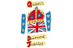 Watch and celebrate the Queen's Diamond Jubilee with friends and family by hosting a viewing party, street party, or British / Union Jack theme party in honor of Queen Elizabeth II's 60 years on the throne Trinidad, God Save The Queen, Quentin Blake, London Calling, Union Jack, Queen Elizabeth Ii, Princess Elizabeth, Art Design, Logo Design