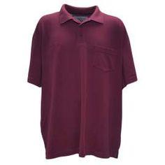 PRO bordó piké Polo Shirt, Mens Tops, Shirts, Fashion, Moda, Polos, Fashion Styles, Polo Shirts, Polo