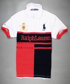 Team Challence White Ralph Lauren Polo in 2013