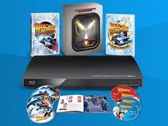 Back to the Future The Complete Adventures 30th Anniversary Set and a Blu-ray Player sweepstakes