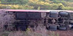 Asciende a once muertos y  17 heridos la cifra   por accidente en carretera Carora-Barquisimeto (Fotos)