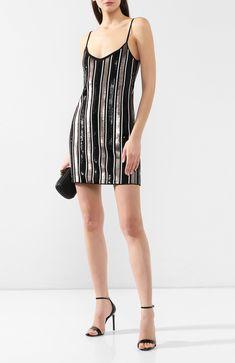 03e84718ff6 Женское черно-белое платье с пайетками FISICO — купить за 114000 руб. в  интернет