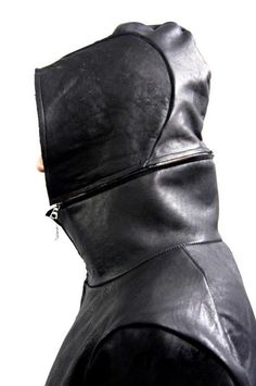 Zam Barrett fw13 overlocked horse leather unlined coat