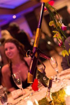 Paintball is never out of season...their even good for center pieces at weddings or any gathering you choose
