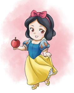 Cute Snow White chibi