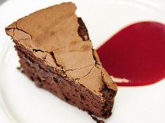 the chew | Recipe  | Clinton Street Baking Company's Flourless Chocolate Cake