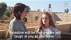 Abby Martin with Ahed Tamimi, a Spirit That Can't Be Jailed - YouTube
