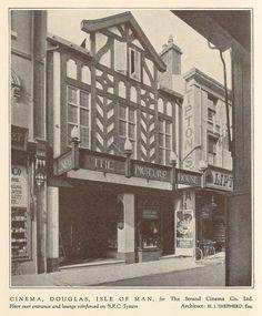 Manx Nostalgia (@manxnostalgia) | Twitter Man Go, Isle Of Man, Theatres, Guy Pictures, Vintage Men, Entrance, Past, Nostalgia, Cinema