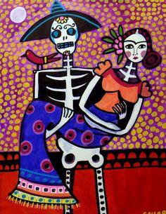 Day of the Dead- El dia de los muertos.  #eldiadelosmuertos #dayofthedead #calavera