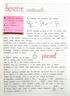 More notes for organic chemistry