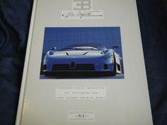 BUGATTI SEMESTER 1992 INTERNATIONAL EB110 EB 110 TAZIO NUVOLARI 1927 TYPE 35B 35 Maserati, Bugatti, Grand Prix, Racing, Type, Ebay, Books, Ayrton Senna, Running