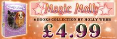 Holly Webb Magic Molly 6 Books Collection Children Animal Books Set