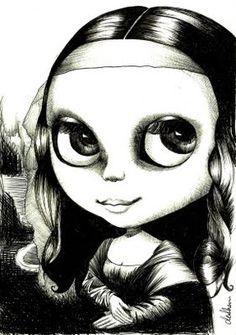 Mona Blythe [de Shan] (Gioconda / Mona Lisa)