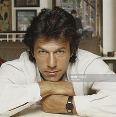 Imran Khan is a cricketer turned politician and leader of the largest political party in Pakistan. He played cricket for 20 years in the late nine Imran Khan Family, Imran Khan Sons, Pti Pakistan, Imran Khan Pakistan, Prince Rahim Aga Khan, Imran Khan Wedding, Reham Khan, Inspirational Leaders, Terry O Neill