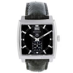 11749 Tag Heuer Monaco Stainless Steel Diamond Unisex Watch WAW1310 Unworn SwissWatchExpo