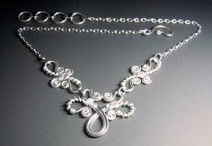 Silver wirework