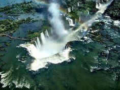 Igussu Falls, Brazil --  Dazed Digital | Linda Farrow: The Eye Life