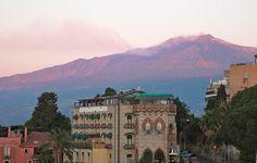 """Sunrise on Mt. Etna"" Student Photo in Taormina, Italy"