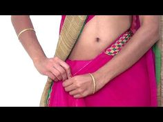 Fast & Easy Saree Wearing tutorial - YouTube