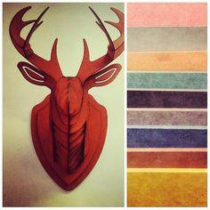 En el #diakmx ya tenemos #venado de #colores en #cortelaser ... Pregunten por precios a diakmx@gmail.com y pueden escoger el color que deseen de nuestro catálogo... Somos distribuidores de #mdf de #color. #diseño #diseñoinsdustrial #ingenieria #materiales #manufactura #maker #makers #decoracion #interiores #hogar #cnc #cncrouter #diseñointerior #interiorismo #deer #design #industrialdesign #engeneering #lasercut #decoration #home #interiordesign by diakmx